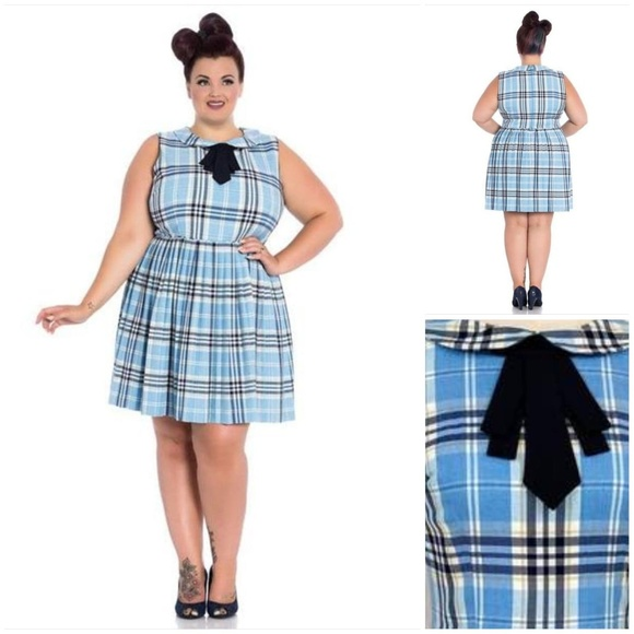 adee0f0b4cef72 Hell Bunny Dresses | Aberdeen Tartan Mini Dress | Poshmark